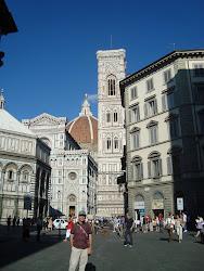En Florencia, Catedral de Sta. Mª. del Fiore