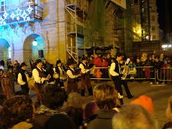 Arrincadeira en la Cabalgata de Reyes (Lugo, 5 de enero de 2010)