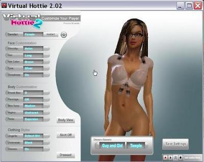 [UD] Virtual Hottie 2.05 3D [ENG]