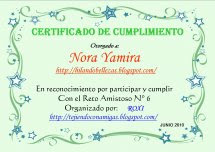 CERTIFICADO RETO No 6
