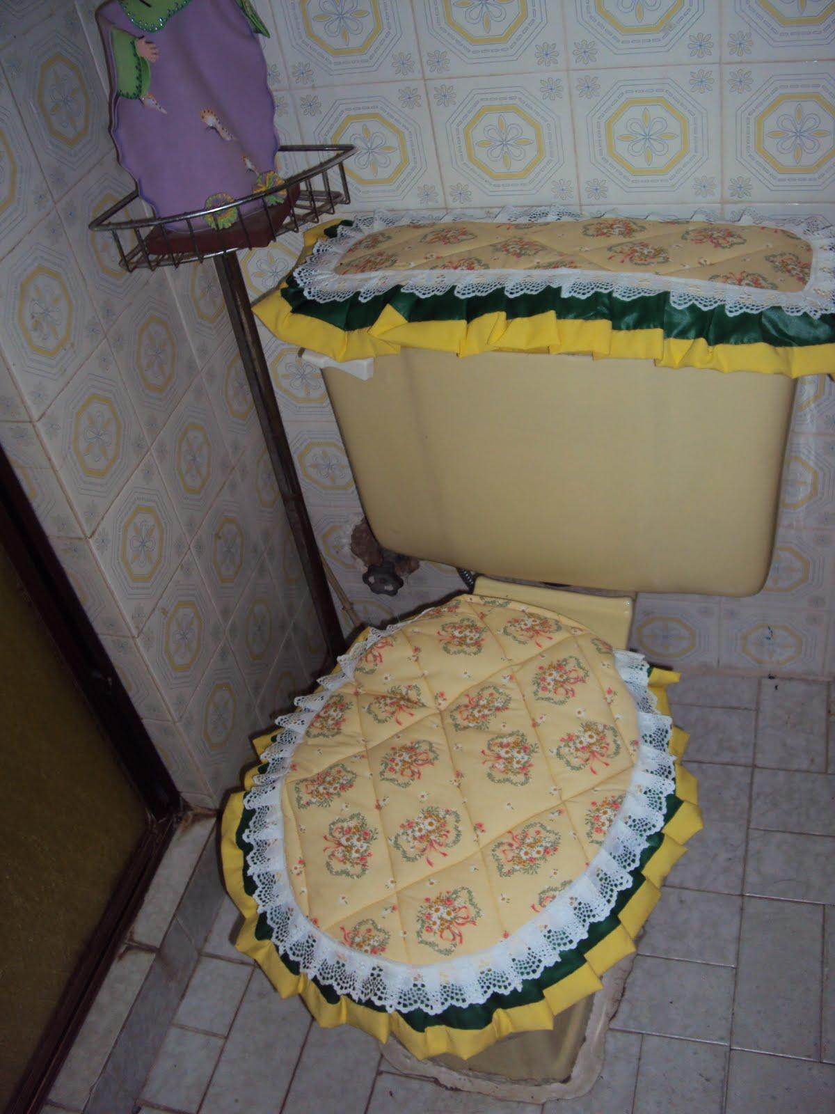 Lenceria De Baño Tejida:PORQUE? Las fotos en el baño, para apreciar mejor el trabajo