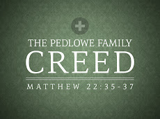 The Pedlowe Family Creed