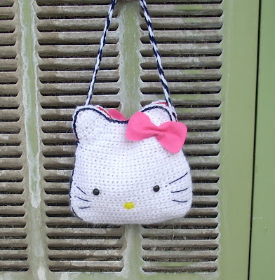 hello kitty bag, scarf - Ravelry - a knit and crochet community