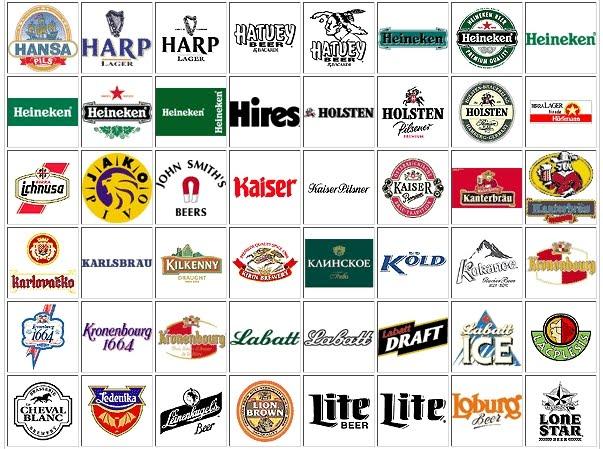 Bocetos Graficos: Logos de bebidas