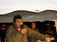 Fratello Daniele Fiorino mentre predica la Parola di Dio