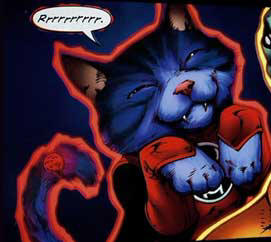 Blue Lantern Dog Vs Red Lantern Cat