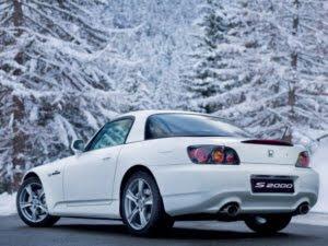 Honda S2000 sports car