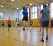 Třeťáci a volejbal