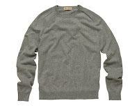 cotton cashmere crewneck sweater Style Guide: The Crewneck Sweater