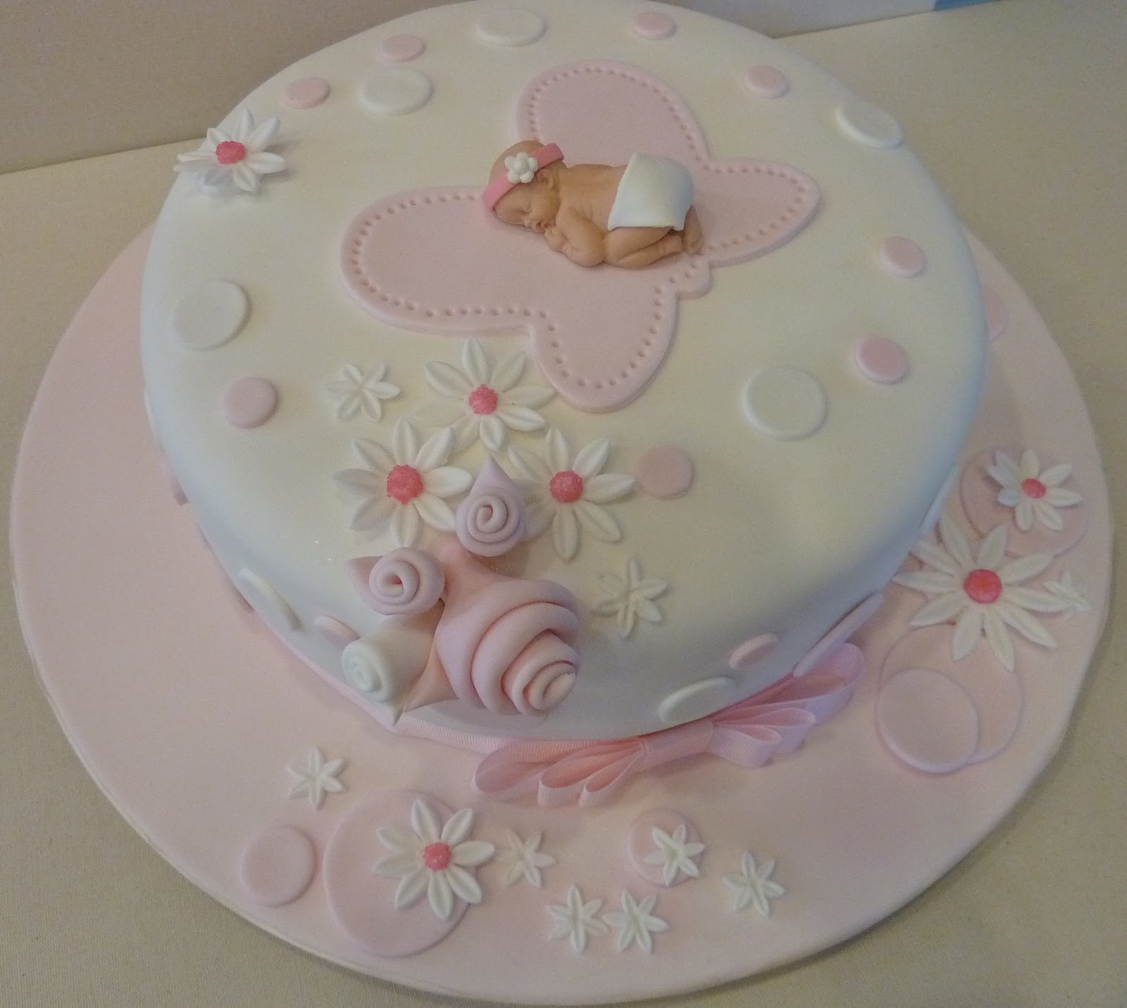love making Baby Shower Cakes and I am glad it came out the way I ...