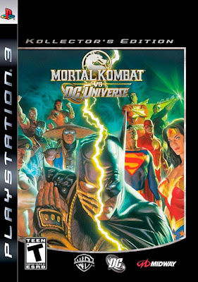 mortal kombat vs dc universe game cover alex ross