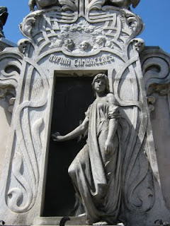 Arte funerario. Cementerio+La+Recoleta
