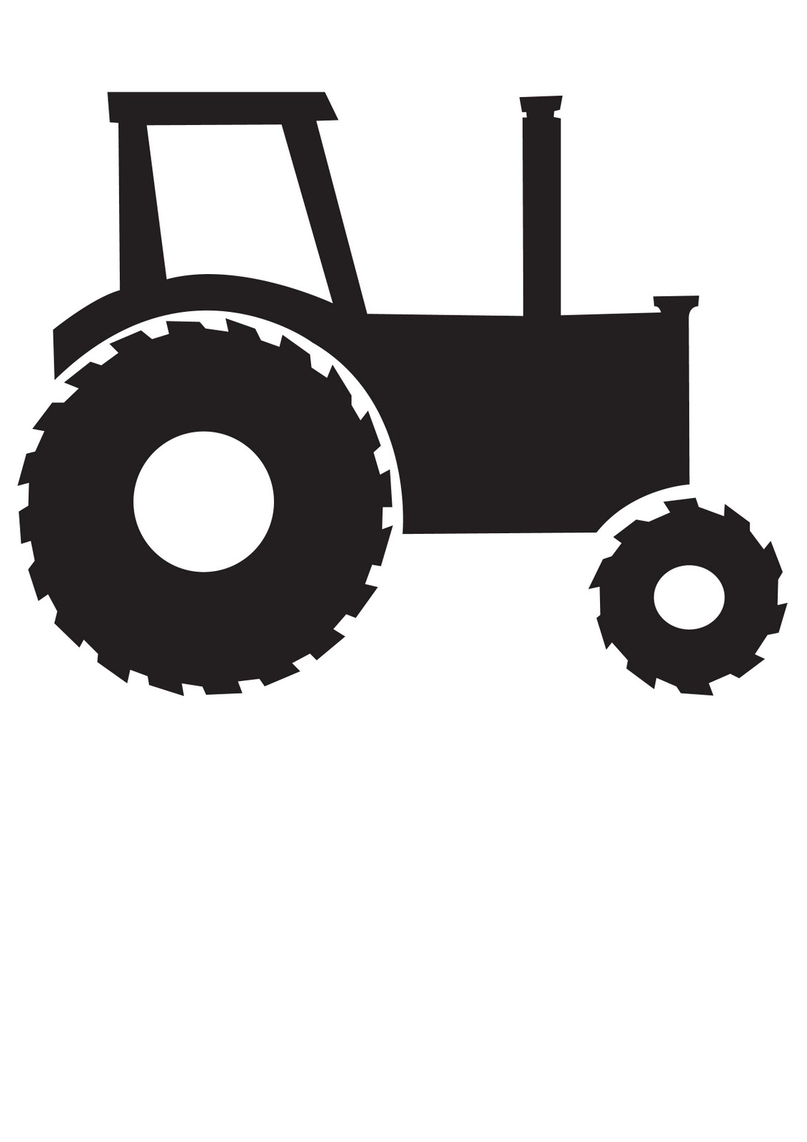 Animated John Deere Tractor Outline : Fintans february