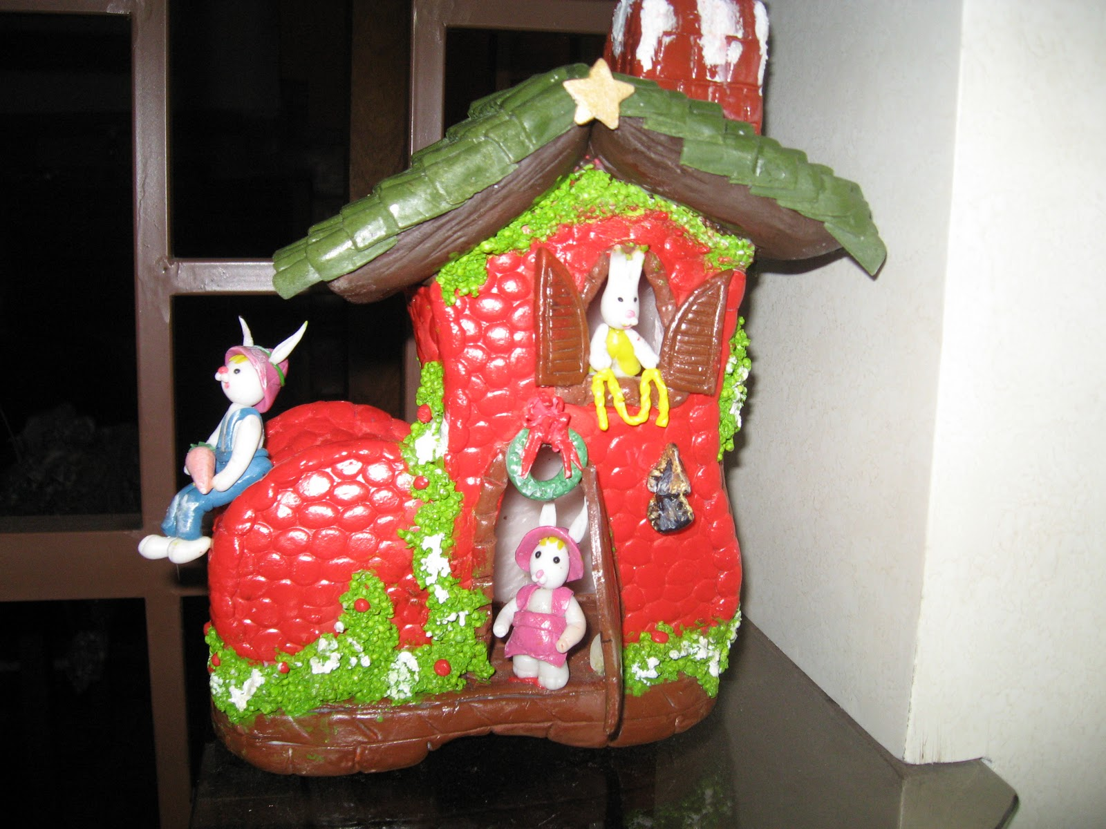 Manualidades decoraciones de porcelana en frio - Decoraciones navidenas manualidades ...