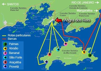 mapa trilhas ilha grande abraão lopes mendes  aventureiro dois rios angra dos reis palmas bananal