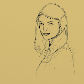 sketch felicia day parchment artrage