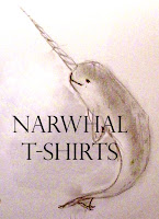 pencil narwhal tee shirt intro image