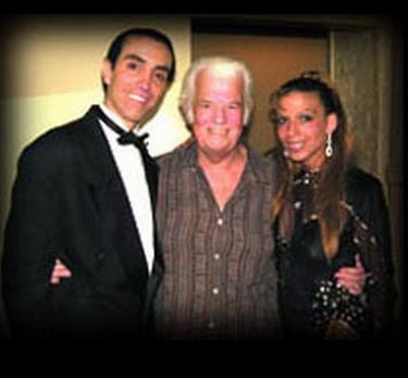 Jorge Valdez con Roxana y Fabian
