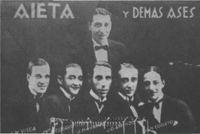 Anselmo Aieta en 1928