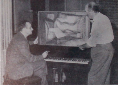 Astor Piazzolla y Vicente Forte