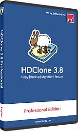 HDClone 3.8 Professional Edition