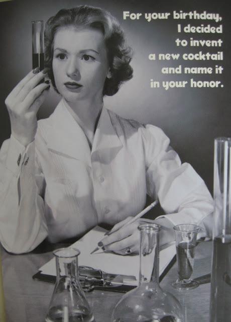 Funny Retro Birthday Wishes ~ A sip of sarsaparilla vintage birthday fun quot she could
