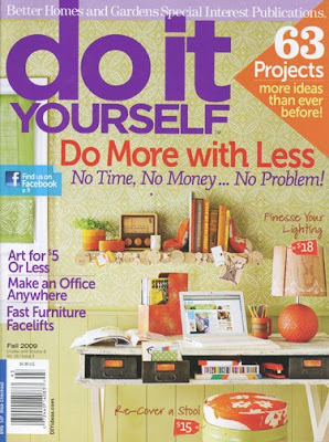 courage to create do it yourself magazine. Black Bedroom Furniture Sets. Home Design Ideas