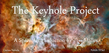 The Keyhole Project / A Space Art Production by Tim Malles