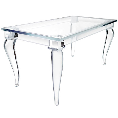 Discount Dining Table on Copy Cat Chic   Chic For Cheap  Lucite Love