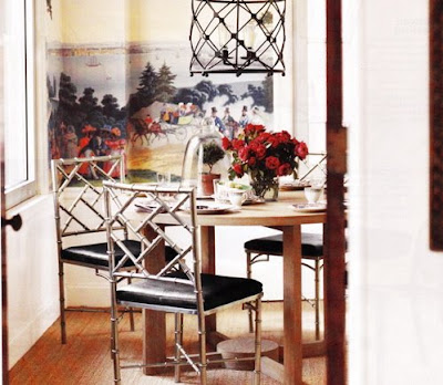 Copy Cat Chic Bamboo Chippendale Chairs