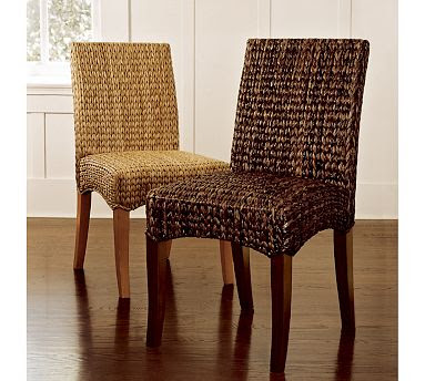 copy cat chic pottery barn seagrass dining chair