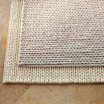 Copy Cat Chic West Elm Chunky Plaited Wool Rug