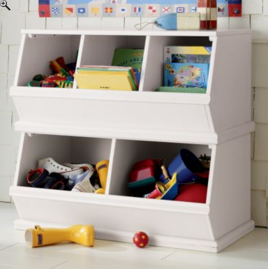 copy cat chic land of nod toy bins bookself. Black Bedroom Furniture Sets. Home Design Ideas