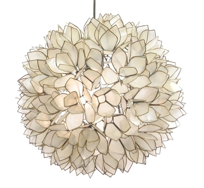 Vivaterra Lotus Flower Chandelier Copycatchic