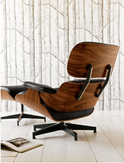 copy cat chic design within reach eames lounge chair and ottoman. Black Bedroom Furniture Sets. Home Design Ideas