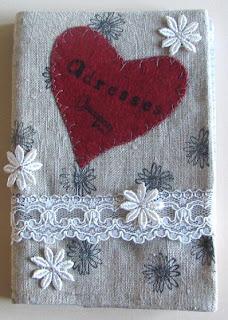 À la stazon, dentelle, fleurs en dentelle, coutures machine et main
