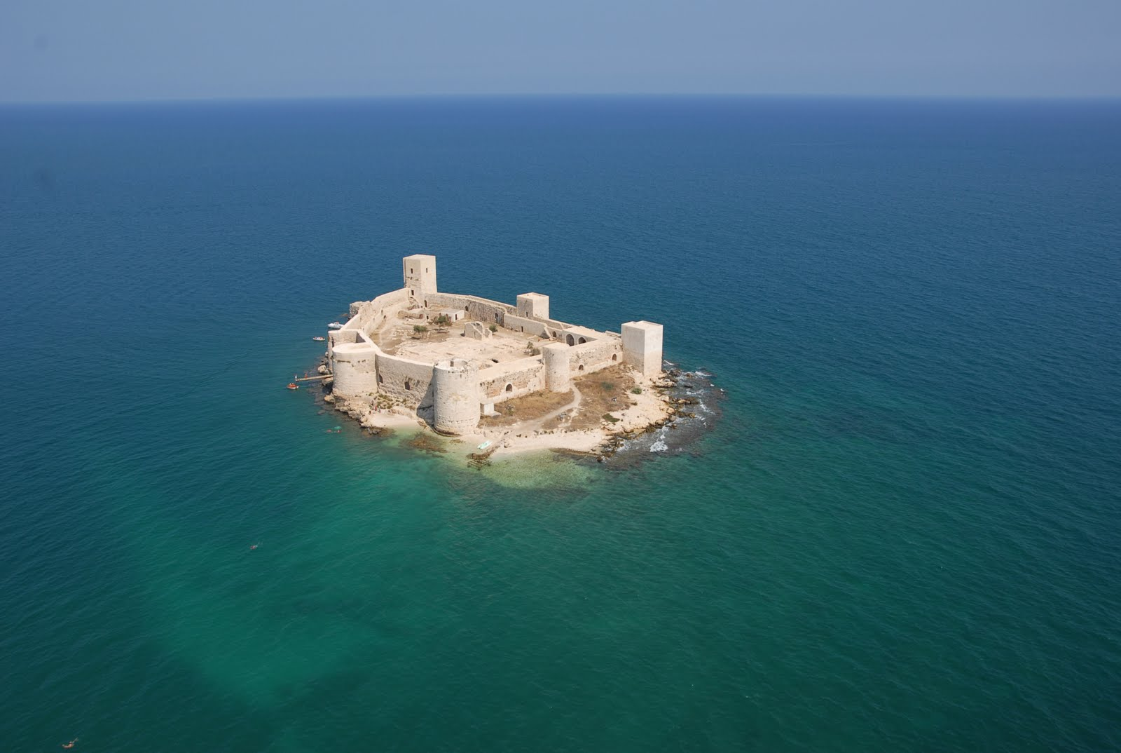 Castle in the sea, Mersin, Turkey  Places Ive Been ...