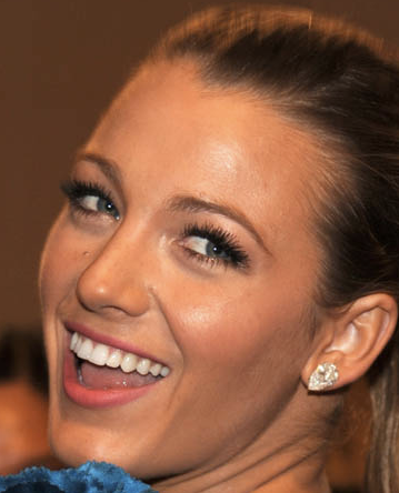 Blake Lively  Makeup on Blake Lively   Two Words  Lashes And Legs  Good Call