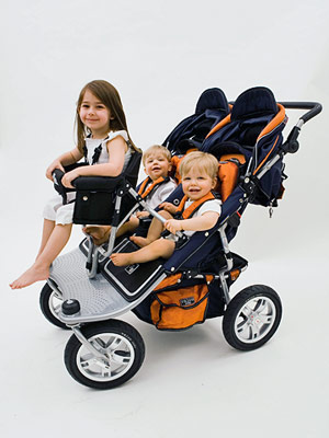 Anyone Know Of A Double Stroller That Turns In To A Triple