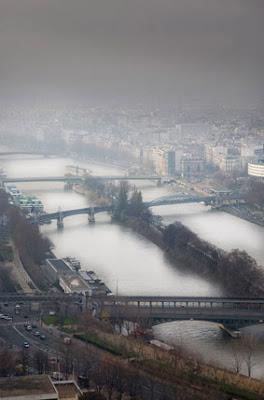 Vista sobre el Sena en Paris
