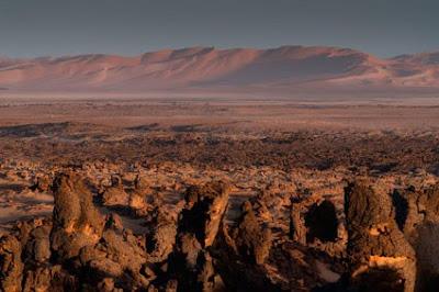 desierto Magridet en Libia