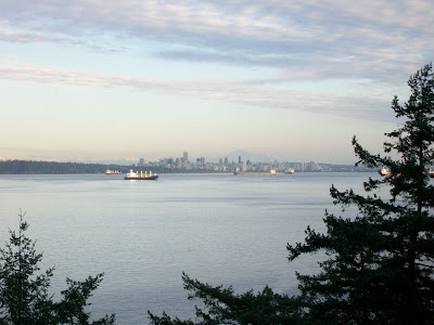 View to Vancouver from Lighthouse Park