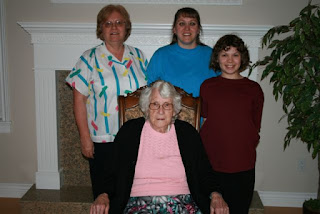 4 generations of girls