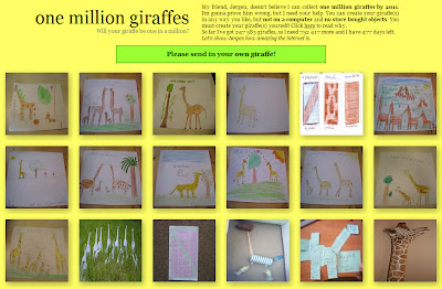 one million giraffes project