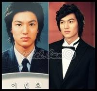 menemukan foto Lee Min Ho sebelum operasi plastik, berita Lee Min Ho ...