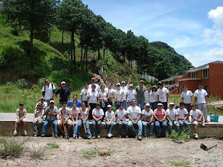 Reforestación Elgin agosto 2009