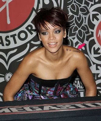 rihanna tattoos meanings. Learn About Rihanna#39;s Tattoos