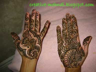 design creative mehndi