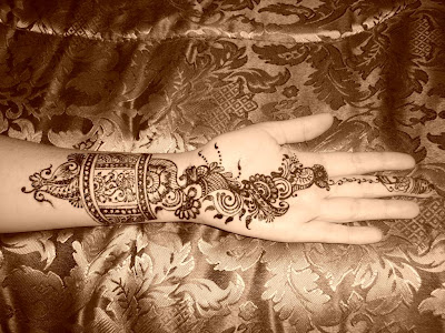 simple arabic mehndi patterns