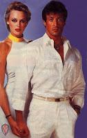 Sylvester Stallone com Brigitte Nielsen